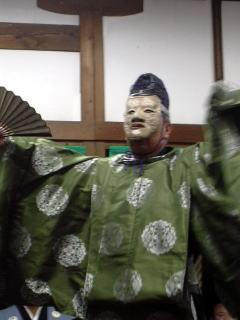 車大歳神社「翁舞」翁の舞