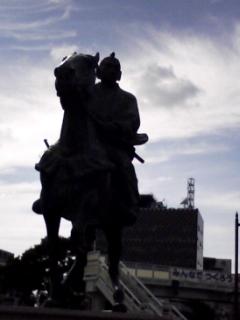徳川吉宗銅像
