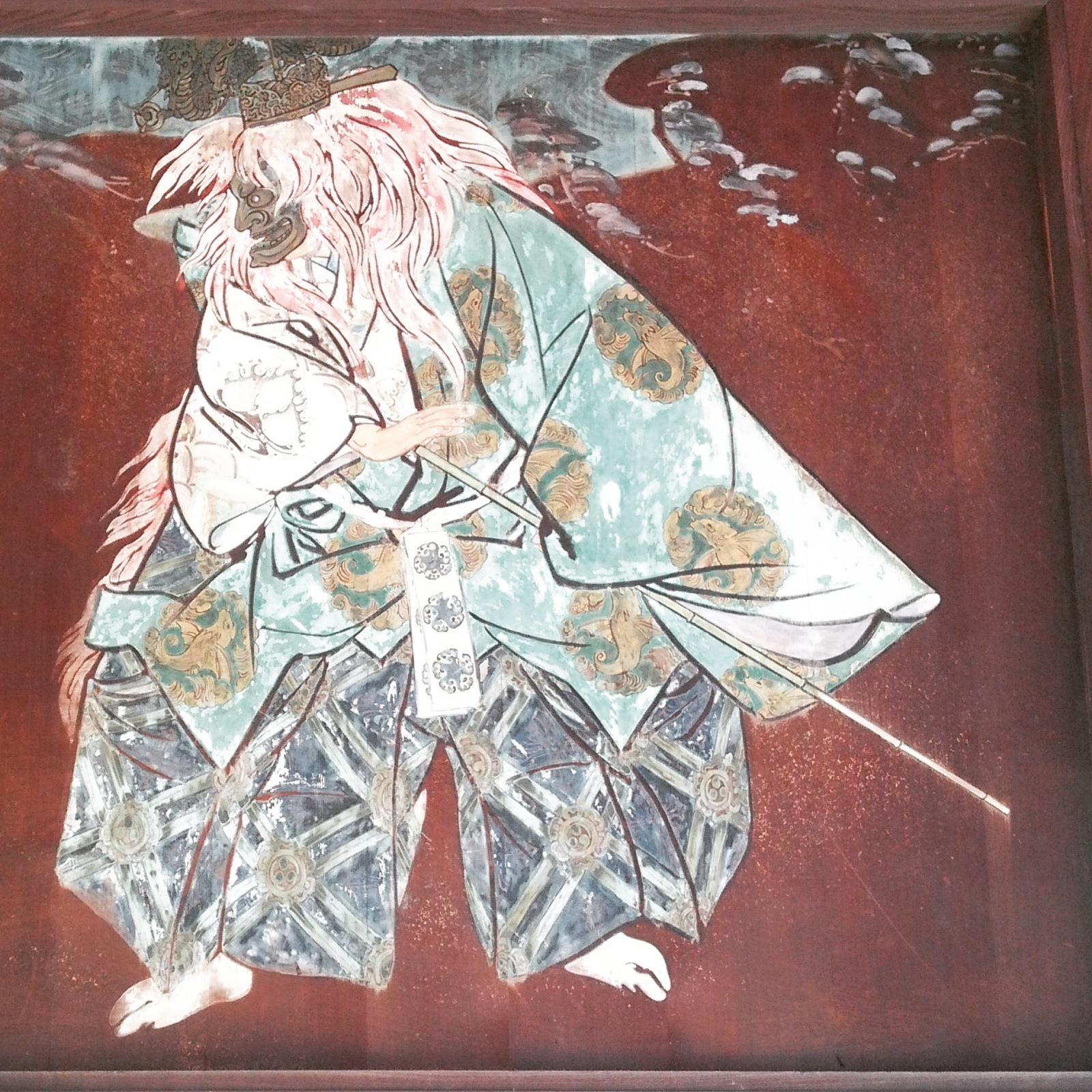 住吉大社絵馬殿にあった《岩船》の絵馬