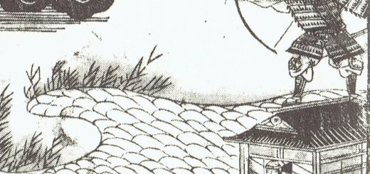 『義経記』船弁慶・挿絵